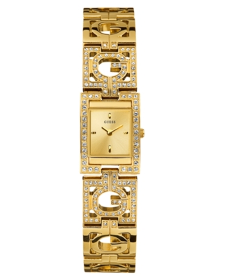 GUESS Watch, Women's Petite Jewelry Goldtone Bracelet U12598L1
