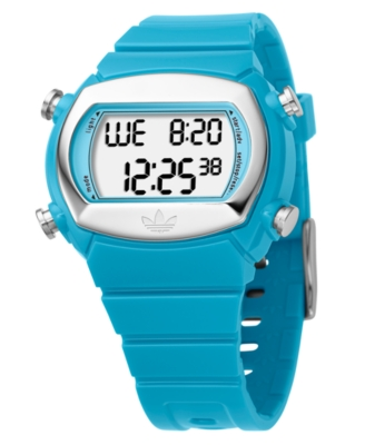 Adidas Watch, Blue Polyurethane Strap ADH6040 - Watches