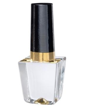 Kosta Boda Art Glass, Gold Nail Polish Bottle