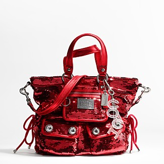 COACH SEQUINS SHOULDER BAG - Poppy Handbags - COACH  - Macy's :  handbag poppy handbags coach sequins