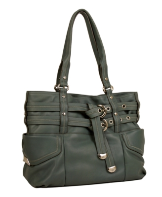 B. Makowsky Handbag, Atlantis Shopper - Leather Tote
