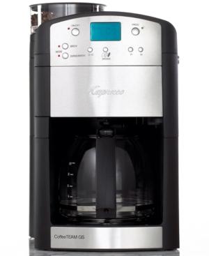 Capresso Coffee Maker Team Gs