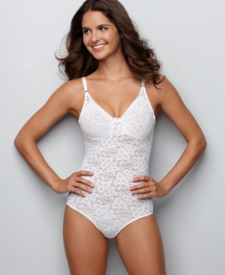 Bali Body Briefer, Stretch Lace