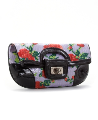 Printed Clutch - Betsey Johnson