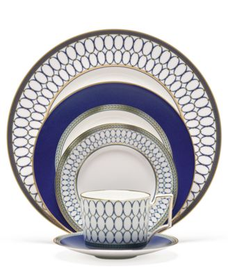 Wedgwood Renaissance Gold 5 Piece Place Setting