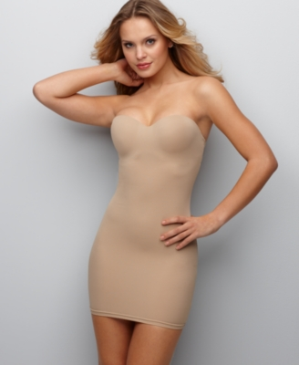 Flexees Full Slip, Firm Control Strapless