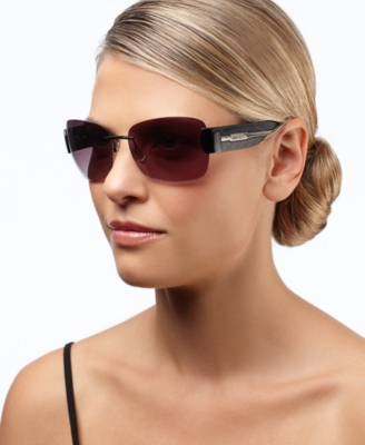 Nine West Sunglasses, Rimless Rectangle