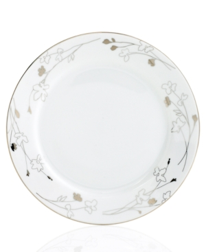 Charter Club Dinnerware, Grand Buffet Platinum Silhouette Round Dinner Plate