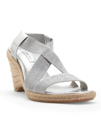 Bandolino Shoes, Girlee Espadrille Wedges Women's Shoes