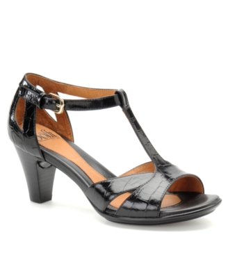 Sofft Shoes, Serafino T-Strap Pumps Women's Shoes