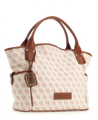 Dooney & Bourke Handbag, Shadow DB Kristen Tote, Medium