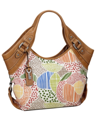 Fossil Handbag, Maddox Fashion Satchel