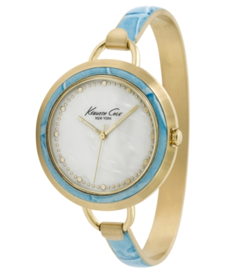 Kenneth Cole New York Watch, Women's Goldtone Stainless Steel Bracelet KC4695