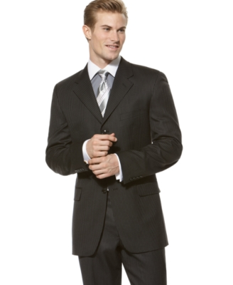 Donald Trump Suit, Black Double Stripe