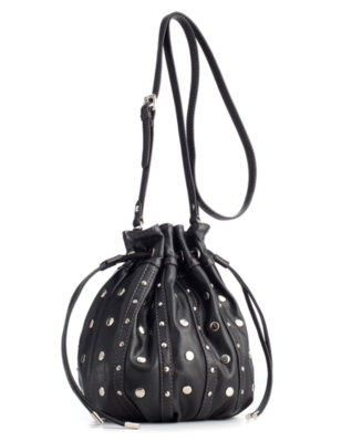 Nine West Handbag, Drawstring Bar Crossbody