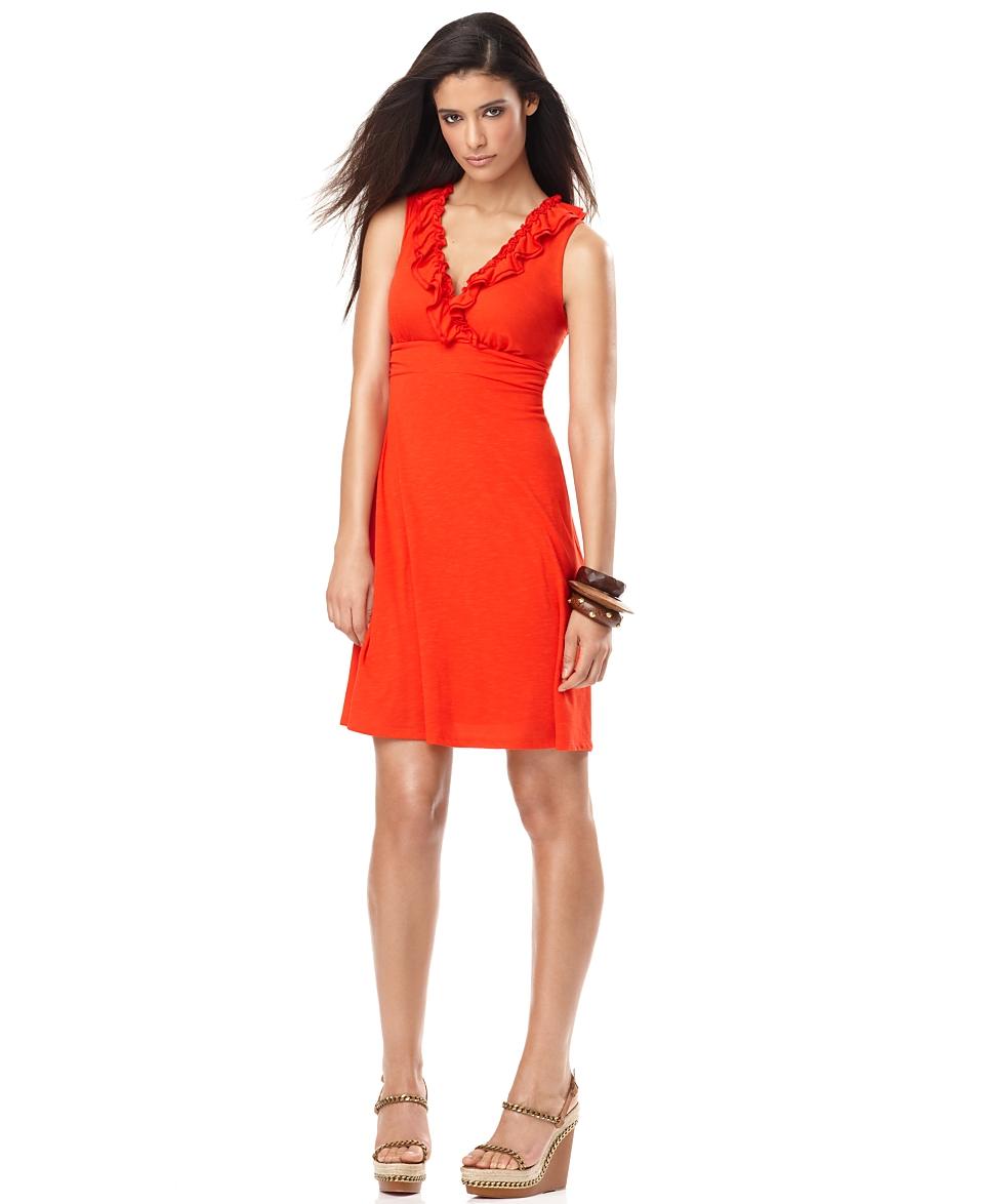 INC International Concepts Dress, Sleeveless Matte Jersey