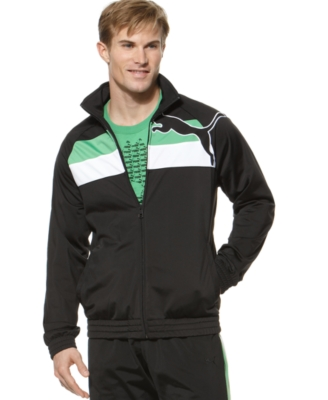 Puma Jacket, Cat Tricot Jacket - Sporty Men's Track Jackets