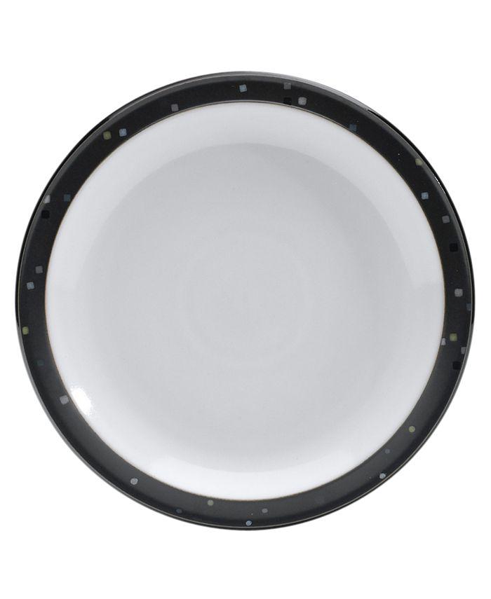 Denby - Dinnerware, Jet Skyline Salad Plate