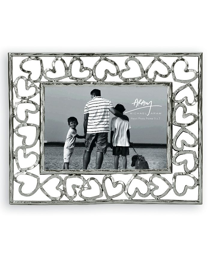 "Michael Aram - Picture Frame, Heart 5"" x 7"""