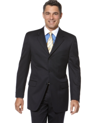 Donald Trump Suit, Navy Solid