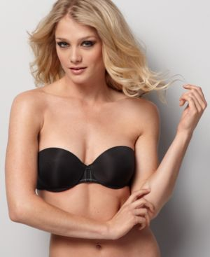 DKNY Bra, Autograph Stripe Perfect Lift Strapless