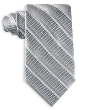 Perry Ellis Tie, Textured Stripe