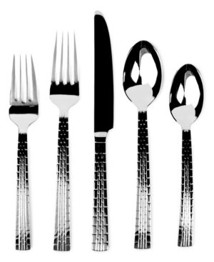 Lauren by Ralph Lauren Flatware, Watchband 5 Piece Place Setting