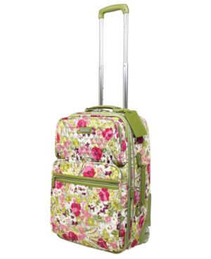 "Vera Bradley Suitcase, 26"" Make Me Blush Expandable Upright"