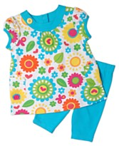 Carter's Kids Set, Little Girls Floral Top and Leggings
