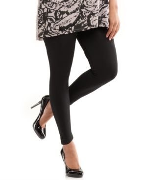 INC International Concepts Plus Size Leggings, Ankle Length