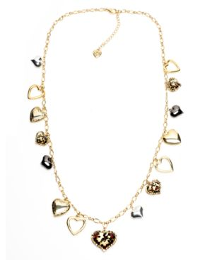 Betsey Johnson Necklace, Heart