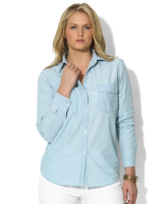 Button Down Shirt - Lauren by Ralph Lauren