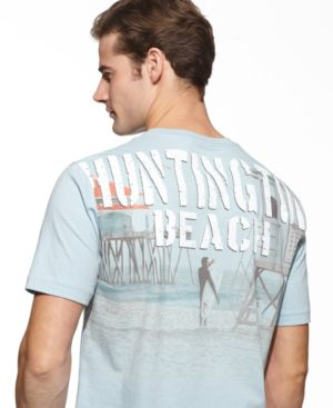 Nautica T Shirt, Huntington Graphic