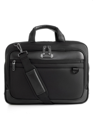 Kenneth Cole Reaction Double Duty Double Gusset Laptop Bag