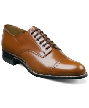 Stacy Adams Madison Cap Toe Oxfords Mens Shoes $114.98 AT vintagedancer.com