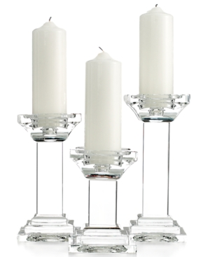 Upc 028199157534 Product Image For Lighting By Design Candle Holders Set Of 3 Metropolitan Pillar