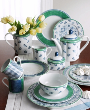 French country dinnerware for relaxed entertaining and for Villeroy and boch french garden