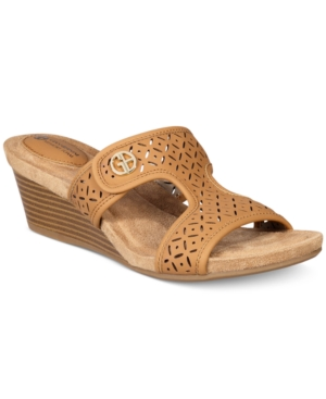 Giani Bernini Brezaa Slide Sandals, Only at Macy's Women's Shoes