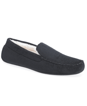 Isotoner Slippers, Microsuede Driving Moc Slipper with Memory Foam Men's Shoes
