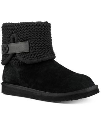 UGG® Shaina Knit Cuff Booties \u0026 Reviews
