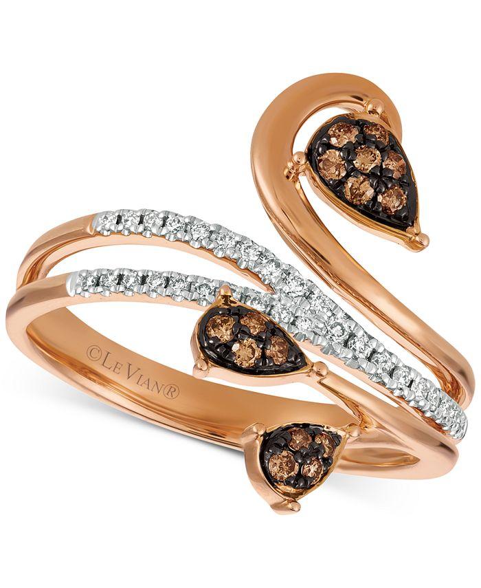 Le Vian - Diamond Vine Ring (1/4 ct. t.w.) in 14k Rose Gold