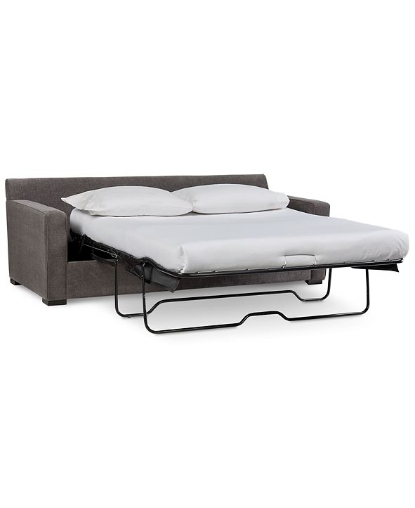 """Furniture Radley 86"""" Fabric Queen Sleeper Sofa Bed, Created for Macy's"""