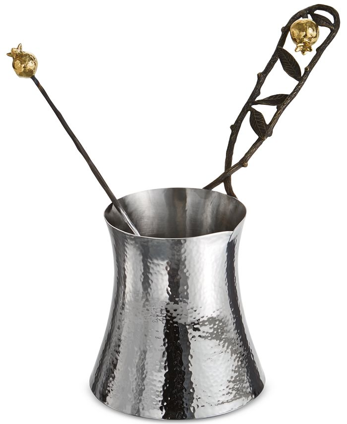 Michael Aram - Pomegranate Large Coffee Pot with Spoon