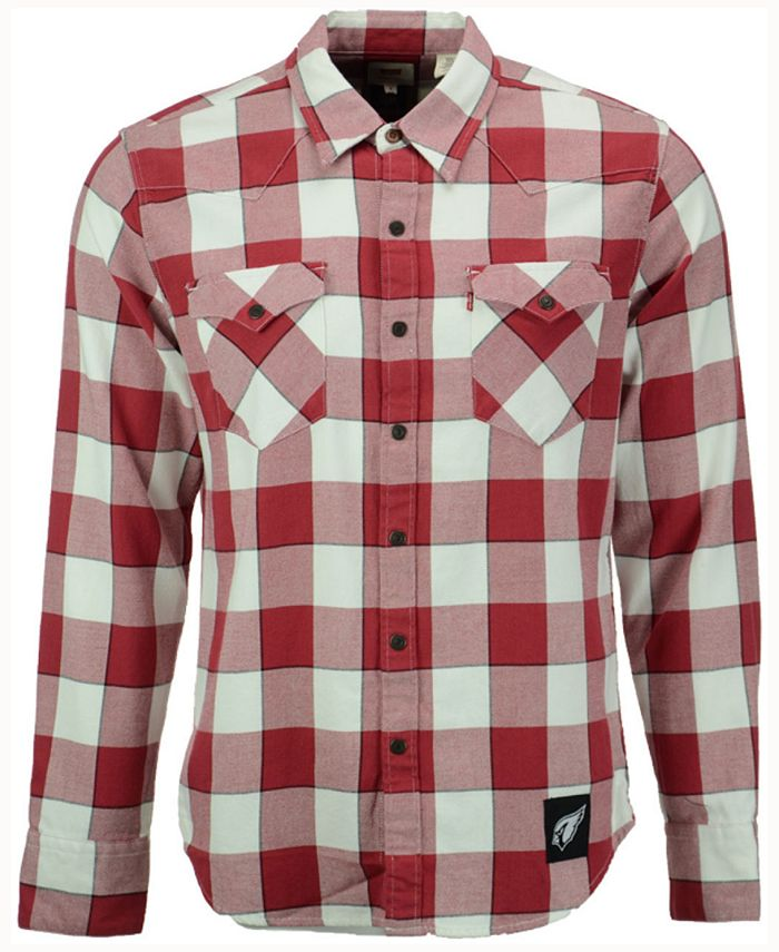 Levi's - Men's Plaid Barstow Western Top