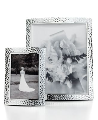 Set of 2 Hammered Picture Frames