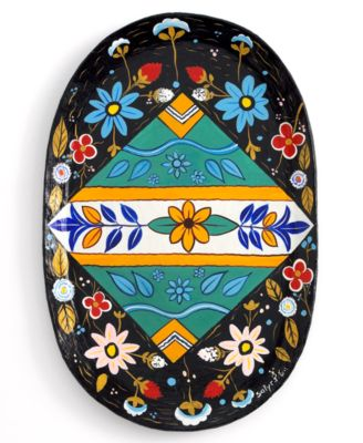 Heart of Haiti Tray, Colonial