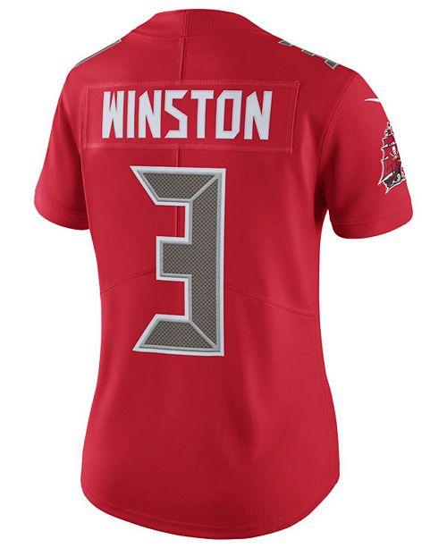 Nike Women S Jameis Winston Tampa Bay Buccaneers Color Rush Limited Jersey Reviews Sports Fan Shop By Lids Women Macy S