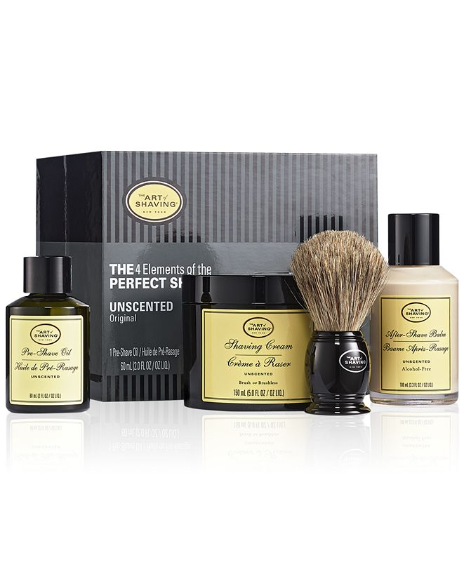 Art of Shaving The Men's 4-Pc. Unscented Full Size Kit