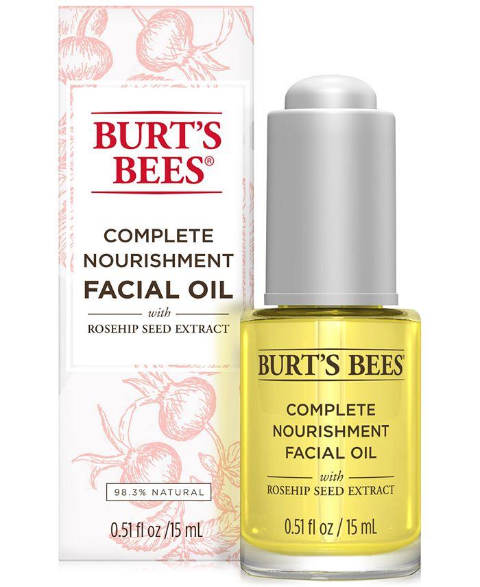 Burt's Bees - Complete Nourishment Facial Oil, 0.5 oz
