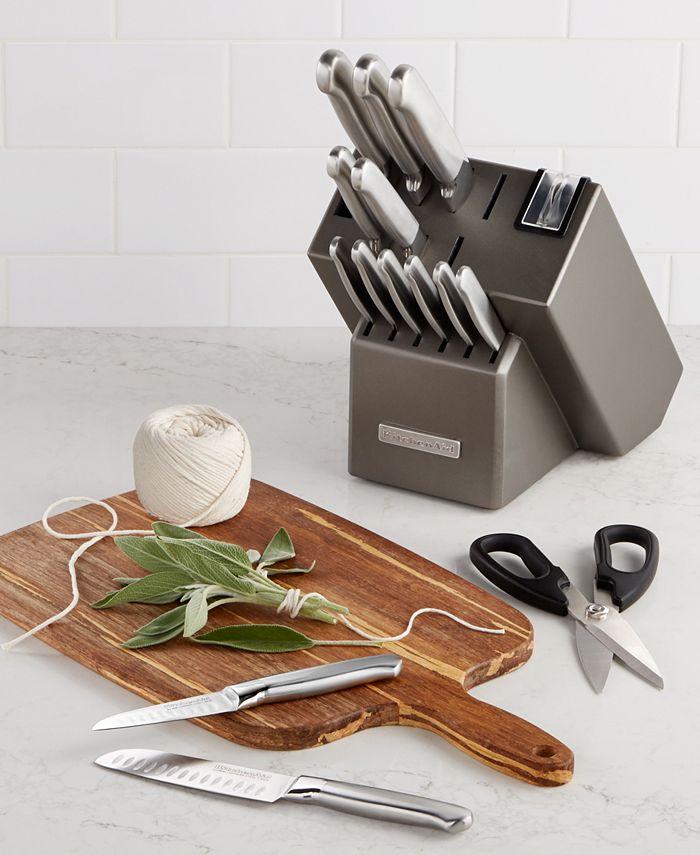 KitchenAid - Architect Series 16-Pc. Stainless Steel Cutlery